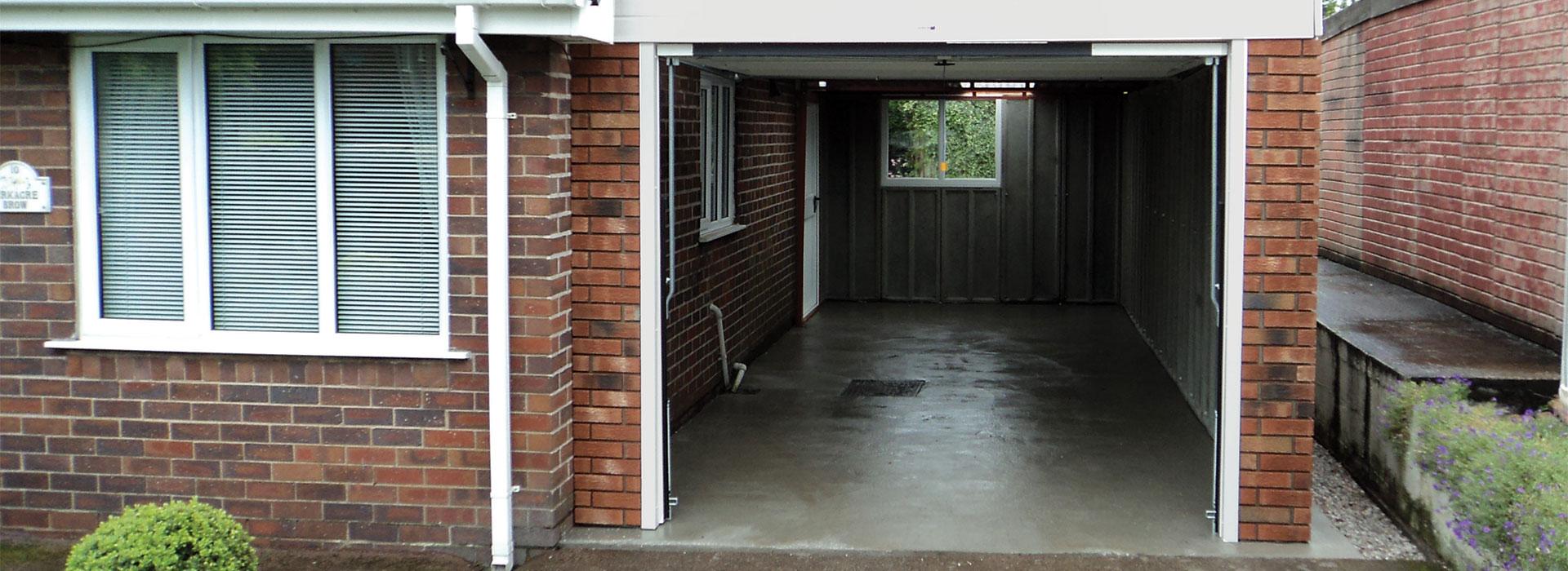 Concrete Garages Edinburgh
