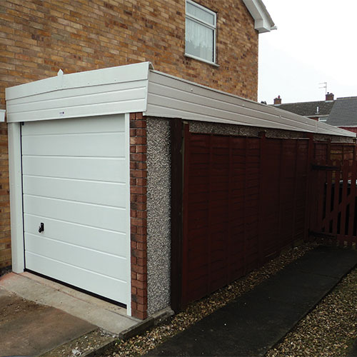 Concrete Garages Lanarkshire