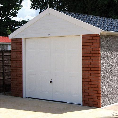 Concrete Versus Brick-Build Garages