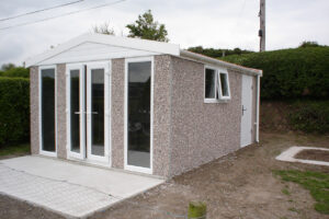 Concrete Garden Room