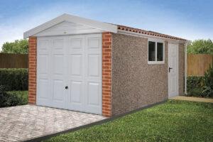 Apex 15 Concrete Garages