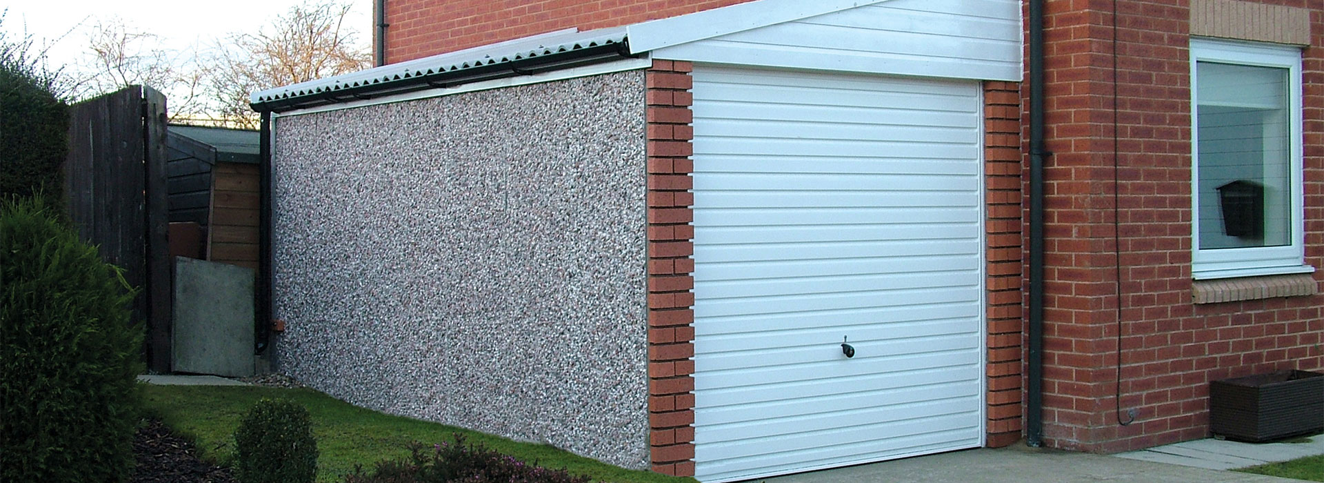 Lean To Concrete Garages