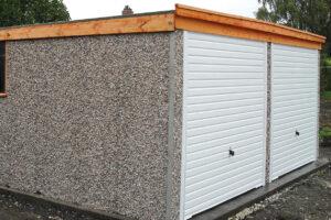 Pent Concrete Garages